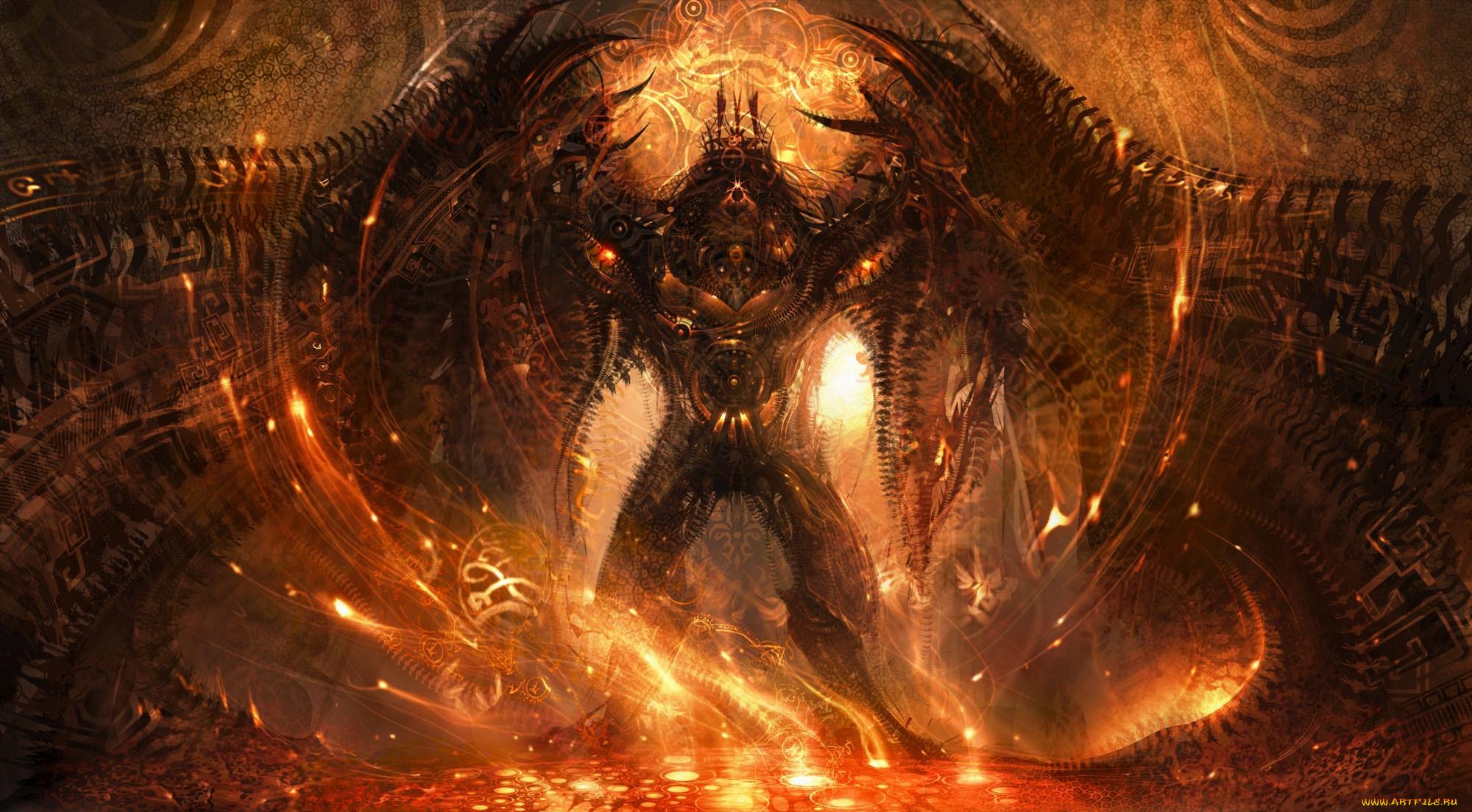 Демон ада картинки